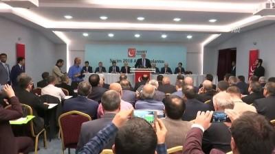 olaganustu hal - Saadet Partisi'nin 'Seçim 2018 Atılım Toplantısı' - ANKARA