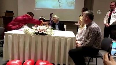 15 yıl sonra hastanede yeniden evlendiler - ANTALYA