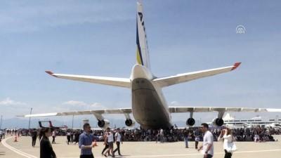 Antonov 124'ün test pilotlarından Andrii Spasibo - ANTALYA