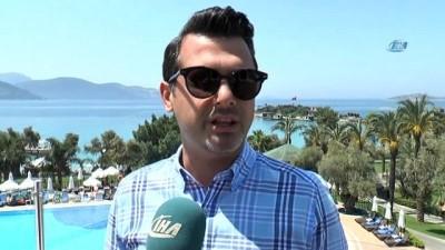 Avrupalı turistler Bodrum'a akın etti