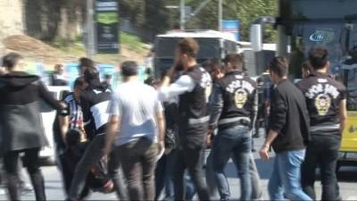Beşiktaş taraftarı derbi için yola çıktı