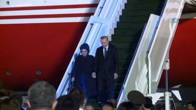 - Cumhurbaşkanı Erdoğan Özbekistan'a geldi