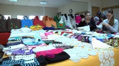 zekat -  Ev hanımları kursta ürettikleri ürünleri ihtiyaç sahiplerine gönderecek