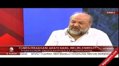 İhsan Eliaçık'ın cumhurbaşkanı profili