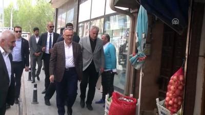 Maliye Bakanı Ağbal'ın ziyaretleri - BAYBURT