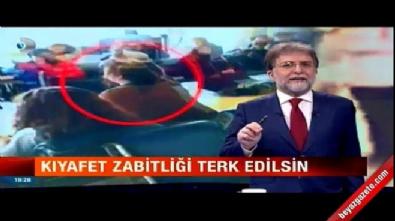 Ahmet Hakan: Kıyafet zabitliği terk edilsin