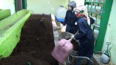 Bileziklerini satıp, organik solucan gübresi üretimine başladılar