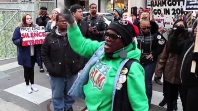 Chicago'da Trump ve polis şiddeti protestosu - CHICAGO