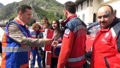 Karadeniz'deki 4 ilden UMKE ekipleri Afrin'e gitti