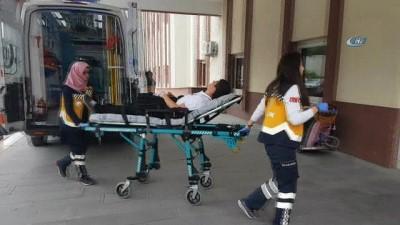 Manavgat'ta okul servisi öğrenciye çarptı