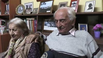 Trabzonlu çiftin 71 yıllık mutluluğu