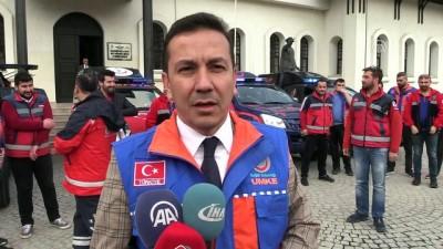 UMKE ekipleri Afrin'e uğurlandı - AMASYA