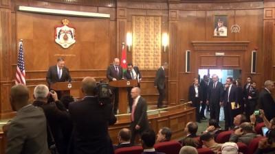 ABD Dışişleri Bakanı Pompeo: 'İki devletli çözümü destekliyoruz' - AMMAN