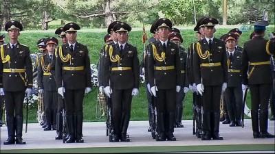 - Cumhurbaşkanı Erdoğan, Özbekistan'da Resmi Törenle Karşılandı