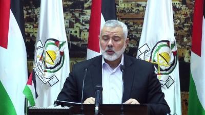 Hamas'tan seçim çağrısı - Hamas lideri Heniyye (1) - GAZZE