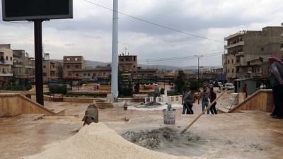 Keçiören Belediyesi Azez'de 5 park ve bahçeyi kullanılabilir hale getirdi - AZEZ