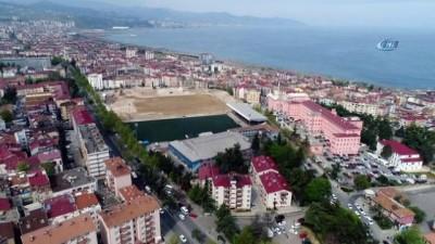 spor musabakasi -  Yarım asırlık spor salonu yıkılıyor...19 Mayıs Kapalı Spor Salonu havadan görüntülendi