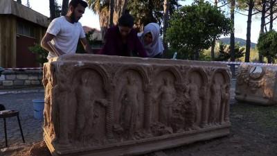 2 bin yıllık lahit tesadüfen bulundu - AYDIN