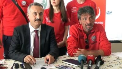 20 gün boyunca sınır hattında görev yapan Edirne UMKE ekibi kente döndü