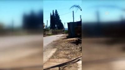 Afrin ve Bitlis'te tespit edilen patlayıcıların imha anı