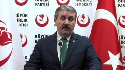 BBP Genel Başkanı Destici (2) - ANKARA