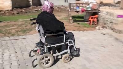 Belediye engellilere 'özel' yol yaptı - ŞANLIURFA