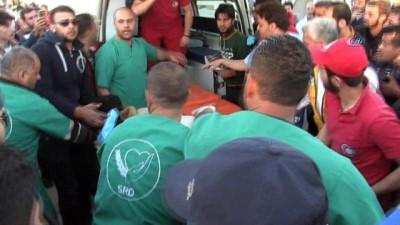 yasli adam -  - Doğu Guta'dan El Bab'a Zorunlu Göç Sürüyor