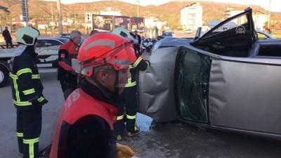 İki otomobil çarpıştı: 4 yaralı - AKSARAY