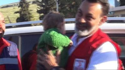 Kasım bebek tedavi için Türkiye'ye getirildi