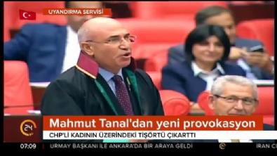 Tanal 'Soyun' dedi, CHP'li kadın soyundu!