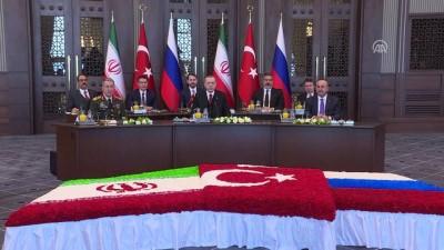 'Türkiye-Rusya-İran Üçlü Zirvesi' başladı - ANKARA