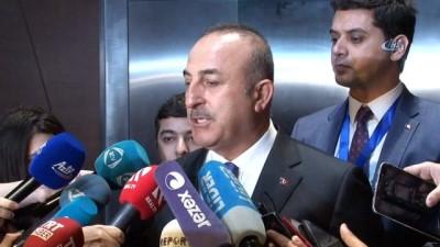"""- Dışişleri Bakanı Çavuşoğlu: 'Nükleer Enerji Santrali Nükleer Silah Değildir"""""""