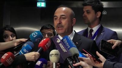 isgal - Dışişleri Bakanı Çavuşoğlu: 'Nükleer silahlara karşıyız, bende olsun diğerinde olmasın anlayışına da karşıyız' - BAKÜ