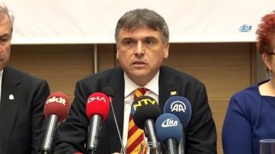 Galatasaray başkan adayı Ali Fatinoğlu, projelerini anlattı