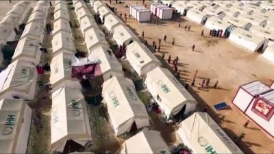 İHH'dan Doğu Gutalı aileler için yeni kamp - SURİYE