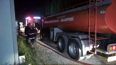 OSB'de bulunan fabrikada yangın çıktı