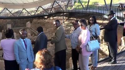 Afrika ülkelerinin büyükelçileri, Göbeklitepe'de - ŞANLIURFA