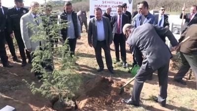 Afrin şehitleri için hatıra ormanı oluşturuldu - KIRKLARELİ