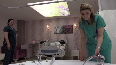 'Beş yıldızlı' hastane odasında jakuzide doğum - SAMSUN