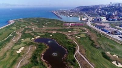 Dünyanın denize dolgu ilk golf sahası artık 18 çukur