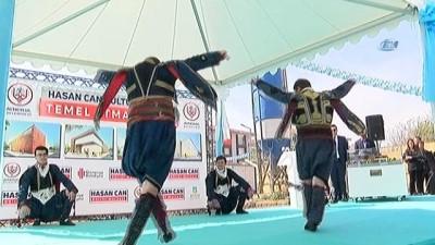 Hasan Can Kültür Merkezi'nin temeli atıldı