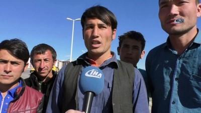 Afganistan ve Pakistanlı göçmenler Türkiye'ye giriş serüvenini anlattı