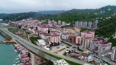 Arap yatırımcıların ilgisi Trabzon'da konut fiyatlarını tırmandırdı...Konutlar havadan görüntülendi