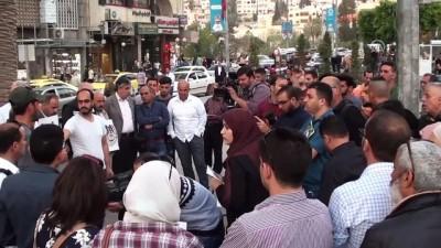isgal - Batı Şeria'daki gazeteciler meslektaşları Murteca'nın şehit edilmesini protesto etti - NABLUS
