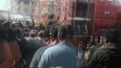 El Bab'taki patlamada yaralananlar Türkiye'ye sevk edilmeye başlandı