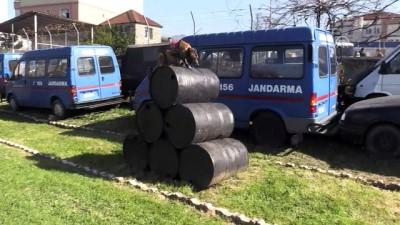 Jandarma köpeği 'Fora' suçlulara göz açtırmıyor - ORDU