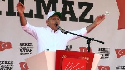 Kılıçdaroğlu: 'Hangi partiden olursak olalım önceliğimiz vatan' - ÇORUM