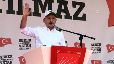 Kılıçdaroğlu: 'Hiç bir şeker fabrikası zarar etmez yeter ki adam gibi çalıştırın' - ÇORUM