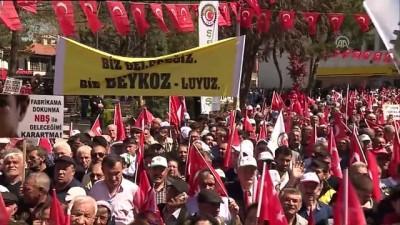 Kılıçdaroğlu: 'Şeker pancarı demek niteliksiz iş gücüne istihdam yaratmak demektir' - ÇORUM