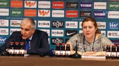 Zeljko Obradovic: 'Güzel bir oyun sergiledik'